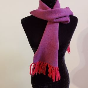 BOGO Sale! Red and blue Warm winter scarf